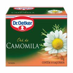 Chá Dr. Oetker com 10 Sachê Camomila 10g