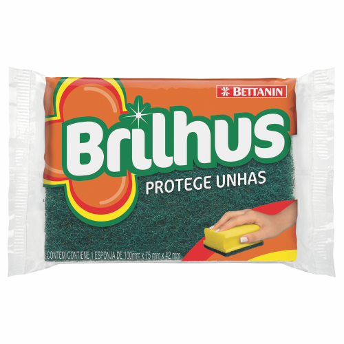 Esponja Brilhus Protege Unhas 1 unidade (BT487)
