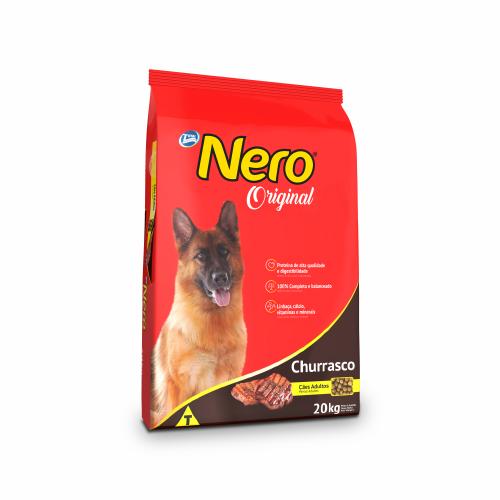 Ração Nero Dog Adulto Original Churrasco 20kg